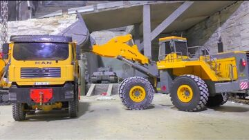 MEGA MACHINES –  RC TIPPER –  RC WHEEL LOADER – AWESOME and Fantastic rc machines !