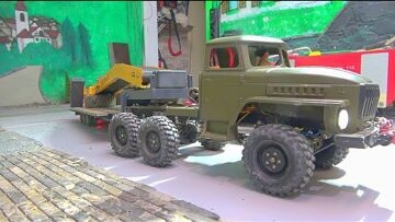 NEW RC MODELS 2020! ONE OF 8 NEW MODELS! HEAVY R970 WITH DESTROYER! LRT 1100 CRANE TRUCK