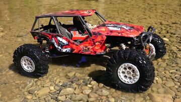 RC ADVENTURES – AMAZiNG Outdoor Trail Course – Customized Axial Wraith 4×4 RC Truck