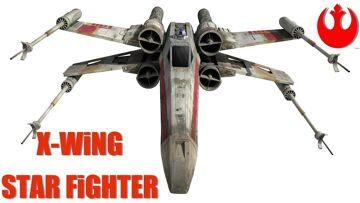 RC AVONTUREN – UNBOX & FiRST FLiGHT! STAR WARS T-65 X-WiNG QUADCOPTER BATTLE DRONE – PROPEL