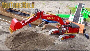 尤图布黄金 (S3 E6) BiG JOHNSON 374FL FEEDS GOLD FOX WASH PLANT for the FIRST TIME! | RC 冒险