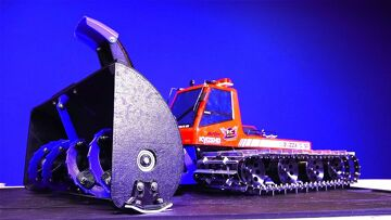 RC ADVENTURES – HUGE 3D printed Snow Blower – Kyosho Blizzard – Spyker Workshop