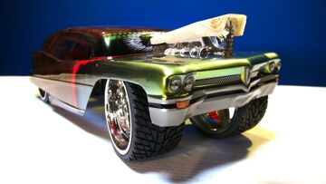 """RC ADVENTURES – Pitdawg Hydro & """"GRAVE ROBBER"""" – New BODY!"""