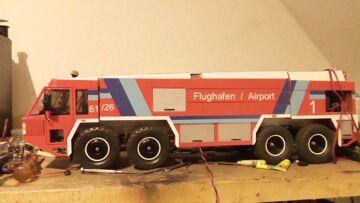 ПОЖАРНАЯ МАШИНА АЭРОПОРТА, THE NEXT AWESOME RC MODEL, Airport fire truck