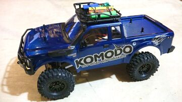 RC ADVENTURES – G Made GS01 Komodo 4×4 1/10 Electric Trail Truck Overview