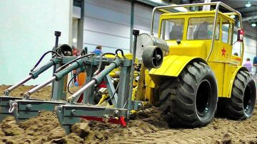 AMAZING RC AGRICULTURE WITH FASCINATING DETAILED AND POWERFUL SCALE 1:14 MODEL MACHINES IN MOTION