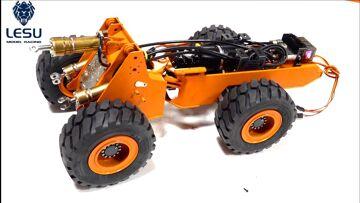 ALL-METAL LIEBHERR 574 HYDRAULiC Wheel Loader BUiLD! LESU (PT 3) Rubber Meets Road | RC ADVENTURES