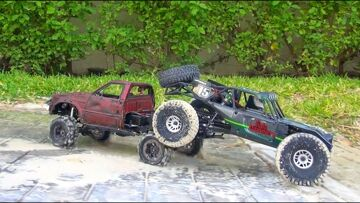 RC ADVENTURES – Vaterra Twin Hammers RTR & RC4WD Trail Finder 2 – in MEXiCO!  PART 2