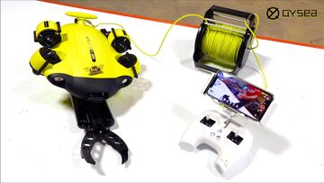 """NEW FiFiSH """"V6S"""" – ROBOTIC CLAW & UNDERWATER/SUBMERSIBLE SUBMARINE """"ROV"""" PACKAGE!   RC ADVENTURES"""