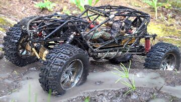 """I MAKE """"CASH"""" GO TO WORK FOR ME & GET DiRT-MUDDY!  GOLD & BLACK BOUNCER on the TRAIL 