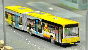 MICRO RC MODEL BUS IN SCALE 1:87 FASCINATING MINIATURE MODELS IN MOTION