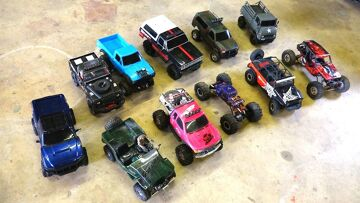 RC ADVENTURES – 11 Scale Trail Crawler Comparisons:  G-Made, Axial, RC4WD, Tamiya & Vaterra