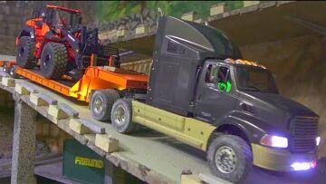 NEW ALL TERRAIN TRAILER! VERBAZINGWEKKENDE EN STERKE HIDROMENK 640WL! WERELD VAN RC
