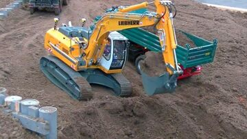 HEAVY NEW AND OLD MACHINES🔥RC CONSTRUCTION MACHINES WORK🔥RC LIVE ACTION