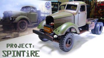 "RC 冒险 – 项目: ""SPiNTiRE"" – 如何: PATiNA BASE PAiNT & SALT CHiPPiNG – KR11 Truck  / CA10"