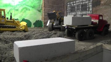 RC ȘANTIER,BUILD A PLACE FOR THE NEW EXCAVATOR,RC ZONE