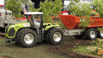 TRACTORS – RC CLAAS TRAKTOR – RC FENDT – RC DUETZ AND OTHER AWESOME RC MACHINES !