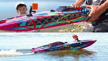 TRAXXAS DCB M41 SPEED BOAT | RC ADVENTURES