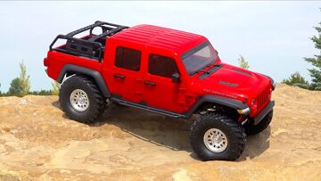 UNBOX & STOCK TEST! 1/10 SCX10 III Jeep JT Gladiator Rock Crawler with Portals RTR | RC ADVENTURES