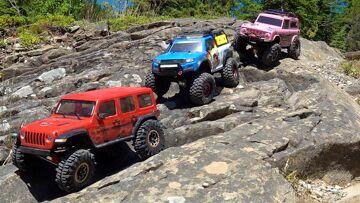 RC 冒险 – 教育部节省了一天!  3 卡车作为一个家庭在加拿大的 ild 外陆