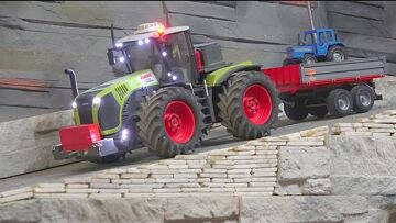 RC SHREDDER A NEW REMOTE CONTROLLED TRACTOR! THE BOSS IS A IDIOT! INCRÍVEIS VEÍCULOS RC ! RC WORLD