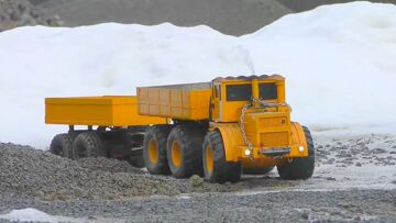RC HEAVY MACHINES! WORKING AT SIBIRIA GRAVEL MINE! AMAZING RC ACTION! RC LIVE ACTION