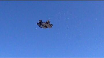 RC ADVENTURES – RC Flying Saucer..?  Nope, Electric Traxxas Slash 4×4 & PiMPED Trail Truck