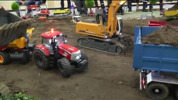 AMAZING RC CONSTRUCTION SITE! RC WORK TO DAY! RC MACHINES AT WORK!