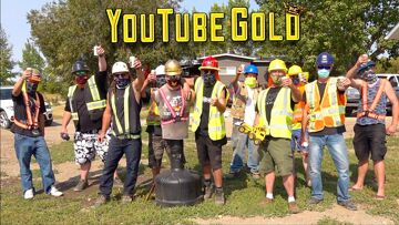 """YouTube GOLD! (S3 E17) """"A GOLDEN EXPERIENCE"""" SERIES FINALE – OUR SQUEAKY CLEAN EXIT! 