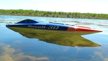 RC ПРИКЛЮЧЕНИЯ – Восстание AquaCraft 30 Brushless FE Mono Boat – Radio Controlled