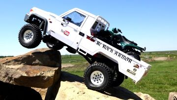 RC ADVENTURES – Toyota LC70 Land Cruiser w/ ATV in Bed – as Fast as Necessary, as Slow as Possible