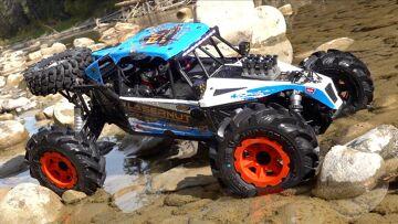 WIR BRAUCHEN ROADS nicht! LOSI LASERNUT U4 1/10-Skala 4WD Rock Racer (Rr) Rtr | RC ADVENTURES