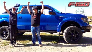 I GIVE a Friend a FREE FORD F150 FX4 PICKUP TRUCK & CHANGE HIS LIFE! | RC ADVENTURES