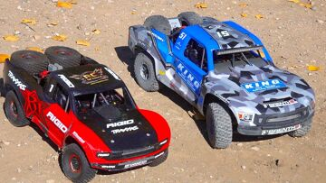 """8S LOSI SUPER BAJA REY 2 or 6S TRAXXAS UDR – WHICH is """"BETTER""""? 