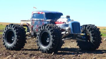 RC ADVENTURES – RAT ROD REAPER RC TRUCK – Incredible Traxxas Summit 4×4 Action