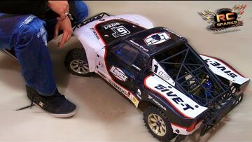 """RC ADVENTURES – Project: """"LARGE"""" / LOSi 5T  (PART 1) Axis RC Stand"""