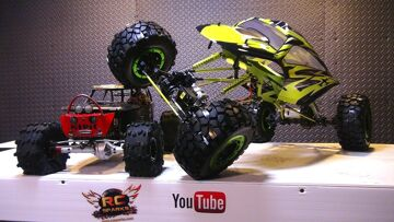 RC AVENTURI – Exceed RC MaxStone 1/5th Scale Crawler – A Monster RC TRUCK