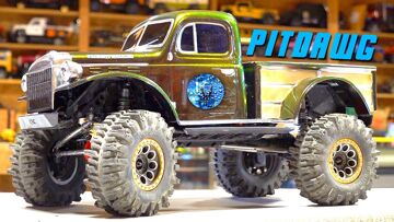 JLU JEEP to DODGE POWERWAGON TRUCK Conversion – PiTDAWG HYDRO – Axial SCX10 3 | RC ADVENTURES