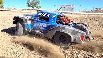 8S 1/6 Super Baja Rey 2.0 4WD Brushless Desert Truck RTR – TRACK TIME! | RC AVENTURI