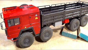 I GOT LUCKY! Have you seen this 8×8 MAN Truck Before? | RC ПРИКЛЮЧЕНИЯ