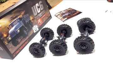 THE BUILD UP – UC6  6×6 OFF ROAD TRUCK (Pt 2) | PRZYGODY RC