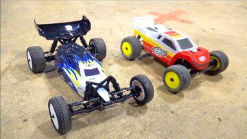 RACING the new WATERPROOF LOSI MINI B (BUGGY) is FUN! ($150) | RC AVENTURI