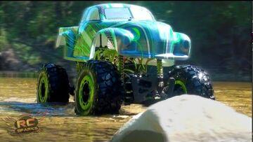 "RC ADVENTURES – ""GREEN BASTARD"" 1/5th 4×4 Trail Truck / Crawler – Short Intro Vid"