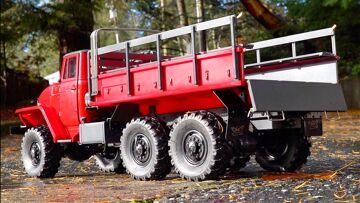 BUSH FIRE TRUCK PROJECT – URAL 6×6 PT 5 – IT MOVES!   RC ADVENTURES