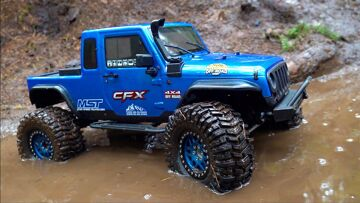 VANQUISH KMC's GET MUDDY for the FIRST TIME – MST CFX-W JEEP | AVVENTURE RC