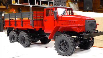 BUILDING A FIRE TRUCK! URAL UC6 6×6   RC ADVENTURES