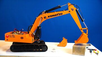 RC ADVENTURES – Siberia Super Duty Bucket for Earth Digger 4200XL Hydraulic RC Excavator