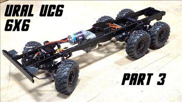 URAL UC6 6×6 OFF ROAD TRUCK BUILD (PT 3)   RC ADVENTURES