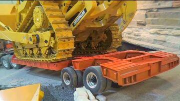 CATERPILLAR D10T LOAD! HIDROMEK 640 WL STONE LOAD! LIEBHERR R970 AT WORK