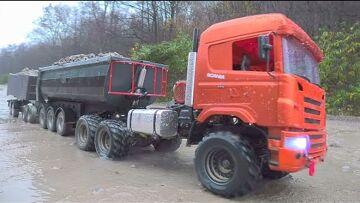 Scania 560 6X6 AGRAR TRUCK! MEILLEURS CAMIONS RC EXTÉRIEURS POUR 2021! RC CAR MUDDING
